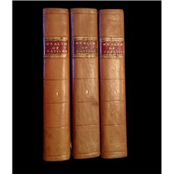 Book: 1796, Smith, Adam: An Inquiry into the Nature and Causes of the Wealth of Nations.