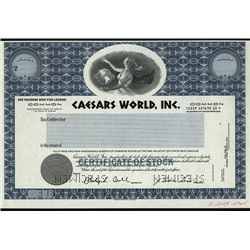 Celebrating their 75th Anniversary, Caesars World, Inc., Specimen Stock.