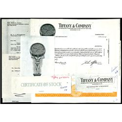 Tiffany & Company, Unique Production Proofs From 1969 Plus Correspondence.