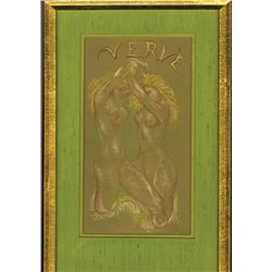 Maillol's Verve, Attractive Art Deco Original Drawing.