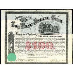 Long Island Club, Issued Bond.