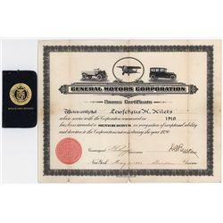 General Motors Corp. Bonus Certificate.