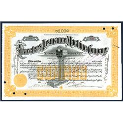 Travelers Insurance Machine Co., Issued Stock.
