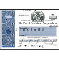 Dun & Bradstreet Corp., Specimen Stock.