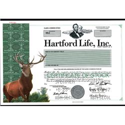 Hartford Life, Inc., Specimen Stock.