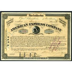 American Express Co. Issued Stock.