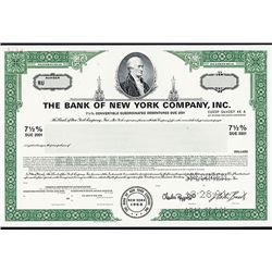 Bank of New York Co., Inc., Specimen Stock.