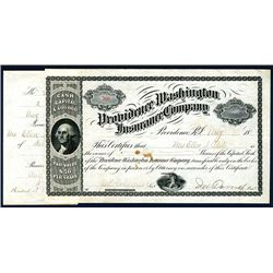 Providence Washington Insurance Co., Issued Stock.