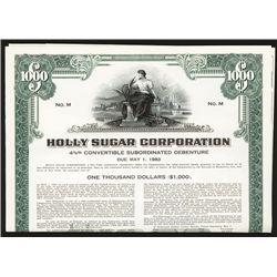 Holly Sugar Corp., Specimen Bond.