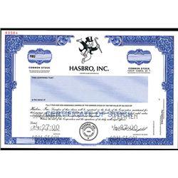 Hasbro, Inc., Specimen Stock.