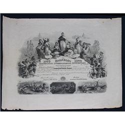 Centennial International Exhibition Centennial Board of Finance, Issued Bond.