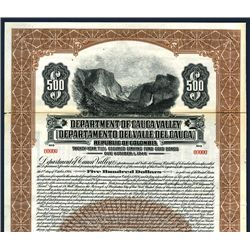 Department of Cauca Valley, Specimen Bond.