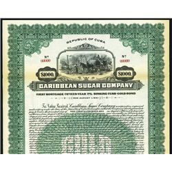 Caribbean Sugar Co., Specimen Bond.