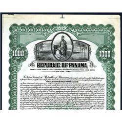 Republic of Panama, Issued Bond.