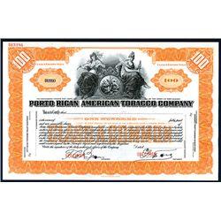 Porto Rican American Tobacco Co., Specimen Stock.