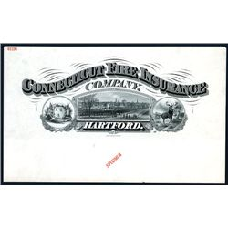 Connecticut Fire Insurance Co., Proof Header.
