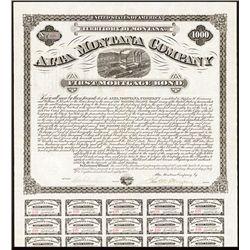 Alta Montana Co., Issued Bond.