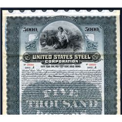 United States Steel Corp., Specimen Bond.