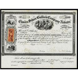 Elmira Silver Bullion Co., Issued Stock.
