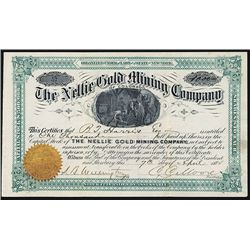 Nellie Gold Mining Co. Issued Stock.