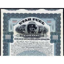 Utah Fuel Co., Specimen Bond.