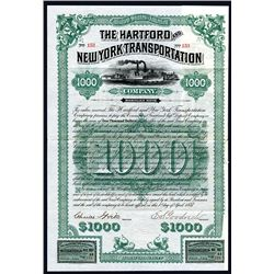 Hartford and New York Transportation Co., Issued Bond.