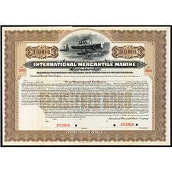International Mercantile Marine Issued Bond.