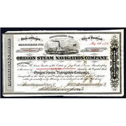 Oregon Steam Navigation Co., Issued Stock.