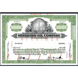 Standard Oil Co., Specimen Stock,