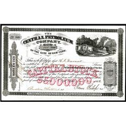 Central Petroleum Co. Issued Stock.