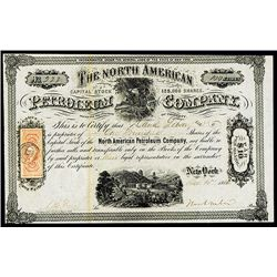 North American Petroleum Co., Issued Stock.