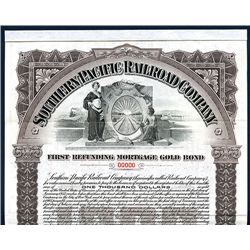 Southern Pacific Railroad Co., Specimen Bond.