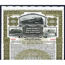 New York, New Haven and Hartford Railroad Co., Specimen Bond.