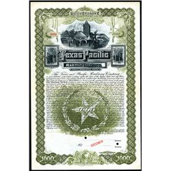 Texas and Pacific Railway Co., Specimen Stock.
