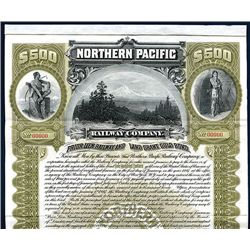 Northern Pacific Railway Co., Specimen Bond.