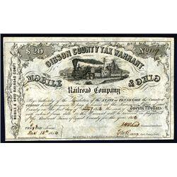 Mobile & Ohio Railroad Co., Issued Bond