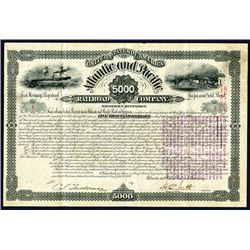 Atlantic and Pacific Railroad Co., Issued Bond.