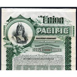 Union Pacific Railroad Co., Specimen Bond.