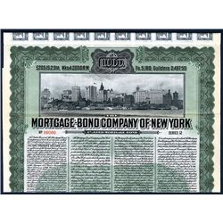 Mortgage-Bond Company of New York, Specimen Bond.