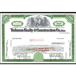 Tishman Realty & Construction Co. Specimen Stock.