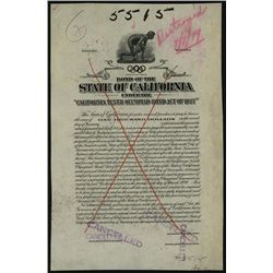 "State of California under the ""California Tenth Olympiad Bond Act of 1927 "", Bond Proof."
