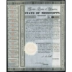 State of Mississippi Issued Bond.