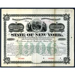 State of New York, Specimen Bond.