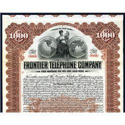 Frontier Telephone Co., Specimen Bond.