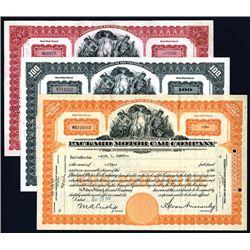 Packard Motor Car Co. 1931 Stock Certificate Lot of 3.