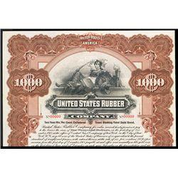 United States Rubber Co. Specimen Bond.