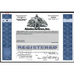 Alaska Airlines, Inc., Specimen Bond.