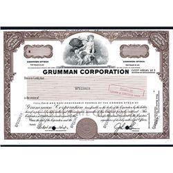 Grumman Corp., Specimen Stock.