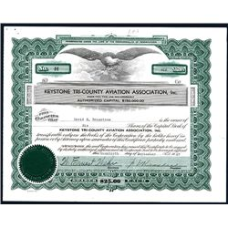 Keystone Tri-county Aviation Ass., Issued Stock.
