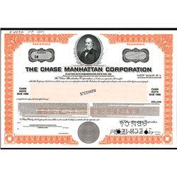 Chase Manhattan Corp., Specimen Bond.